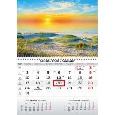 Kalendorius 1-os dalies 2022m MONO 2417000014 TIMER, B13-0284