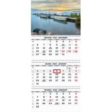 Kalendorius 3-jų dalių 2022m TRIO Extra 2417030003 TIMER, B13-053