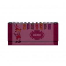 B13-105 Stalo kalendorius 2020m MEMO PVC bordo 2417410004 TIMER