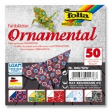 490/1010 FOLIA Popierius lankstymui 10x10m 80g/m 50vnt B06-720
