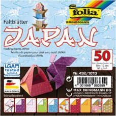 492/1010 FOLIA Popierius lankstymui 10x10m 80g/m 50vnt B06-724