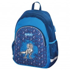 M03-0704 Vaikiška kuprinė CHILDREN BLUE DINO 50014736 HERLITZ