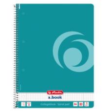 50015702 HERLITZ Sąsiuvinis A4 su spirale 80l 70g/m lang B02-236