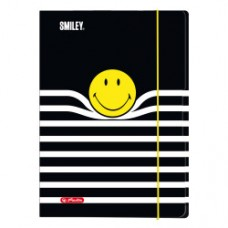 50016075 HERLITZ Aplankas su guma A3 SMILEY STRIPES D04-693