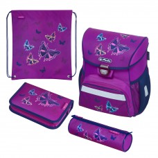 50020485 HERLITZ  Kuprinė LOOP PLUS GLITTER BUTTERFLY M03-039