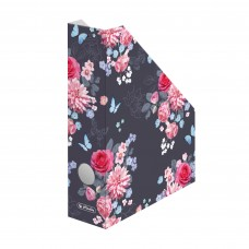 50021574 HERLITZ Stovas dokumentams A4 7cm FLOWERS P01-037