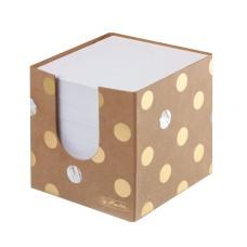 Balti lapeliai dėžutėje 9x9x7cm Pure Glam 50021819 HERLITZ, B11-705