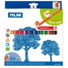 R06-043 Pieštukai 24sp tribriauniai 0728324 MILAN