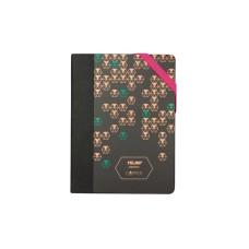 57064CP MILAN Užrašų knygutė A6 COPPER taškeliais B03-776