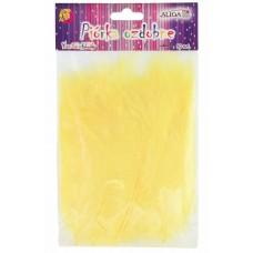 Dekoracija PLUNKSNOS 10-12cm geltonos 50 vnt, P-082 ALIGA, M10-8608