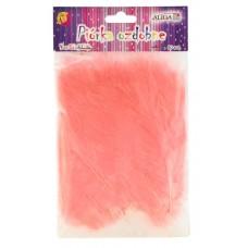Dekoracija PLUNKSNOS 10-12cm šv.rožinis 50 vnt, P-071 ALIGA, M10-8606