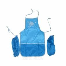 M09-273 Prijuostė vaikų kūrybai 30x50cm mėlyna 61490-11 PAPIRUS