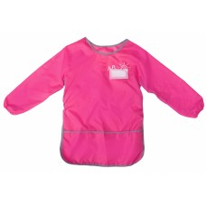 61491-09 PAPIRUS Prijuostė vaikų kūrybai 30x50cm rožinė M09-271