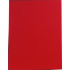 6619 FOLIA Aplankas A4 kartoninis, raudonas D01-195