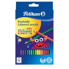 00700139 PELIKAN, Pieštukai 36 spalvų, R06-107