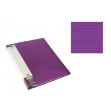 Aplankas A4 su 20 įmaučių violetinis, 75023 SPREE, D04-293