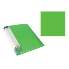 Aplankas A4 su 20 įmaučių žalias, 75024 SPREE, D04-294