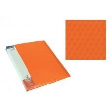 Aplankas A4 su 20 įmaučių oranžinis, 75025 SPREE, D04-295