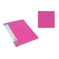 Aplankas A4 su 20 įmaučių rožinis, 75026 SPREE, D04-296
