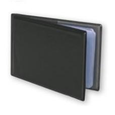 77032 SPREE Dėklas 2 kortelėm horizontalus juodas G04-201