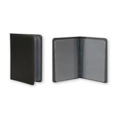 77033 SPREE Dėklas 2 kortelėm vertikalus juodas G04-202