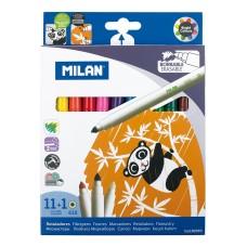80093 MILAN, Flomasteriai 12sp, R07-006