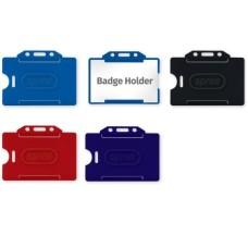 80101 SPREE Vardinių kortelių dėklas 85x55mm horizntalus, baltas D07-322