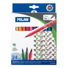 R07-008 Flomasteriai 24sp 80159 MILAN