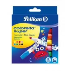 00804905 PELIKAN, Flomasteriai 8sp Colorella Super 411/PB8, R07-042