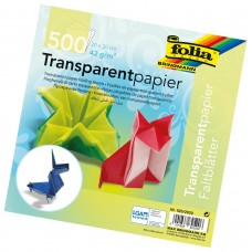 B06-706 Origami 20x20cm 500l įvairių spalvų 825/2020 FOLIA