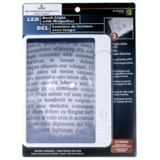 830/047/0000 VALORO Knygų skaitymo padididinimo stiklas su lempa C06-708