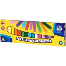 83814904 ASTRA Plastilinas 18 sp M05-603