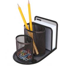 84060 SPREE Metalinė magnetinė pieštukinė, juoda P02-224