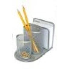 84065 SPREE Metalinė magnetinė pieštukinė, sidabrinė P02-225