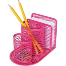 Metalinė magnetinė pieštukinė, rožinė, 84073 SPREE, P02-230