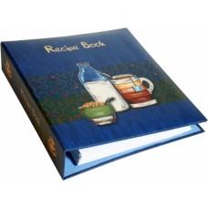 850/627/000 VALORO Receptų knyga 17x20x4.5cm su žiedais 50l B03-4838