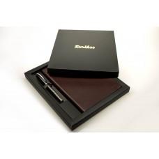 84288 OSKAR Rinkinys rašiklis+užrašų knygutė A5 G10-133