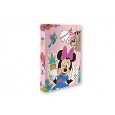 91190 SPREE, Dėklas A4 su guma MINNIE, M02-149