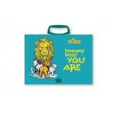 96195 SPREE Portfelis A4 su rankena, LION KING, D05-083