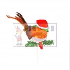 AC094103 PREMIER Dekoracija PAUKŠTIS 10cm  X015-021