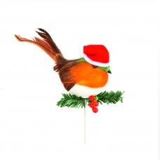 AC094103 PREMIER Kalėdinė dekoracija PAUKŠTIS 10cm  X015-021
