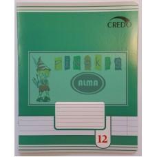 B01-127 Sąsiuvinis 12l linija 7114/5 CREDO 20/120
