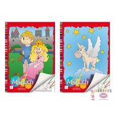 B01-196 Spalvinimo knygutė A4 24l 00502419 HERLITZ