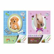 B01-1991 Spalvinimo knygutė A4 Pretty Pets 28l 11295532 HERLITZ