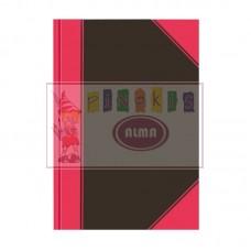 B02-193 Sąsiuvinis A4 langeliais kietu viršeliu 100 lapų 0028343
