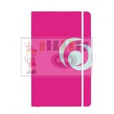 B03-275 Užrašų knygutė A5su guma 88l lang cool pink 11365566 HER