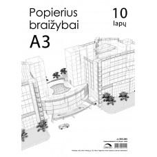 B05-060 Popierius braižybai A3 10l 200g/m² CREDO