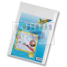 B05-800 Popierius iškarpoms 100x150cm 40g/m 5vnt. 790 FOLIA