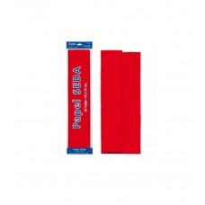 B06-114 Šilkinis popierius 50x70cm 18g/m² 25l raudonas 30310 DOH