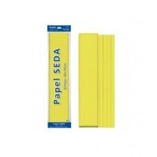 B06-118 Šilkinis popierius 50x70cm 18g/m² 25l geltonas 30316 DOH